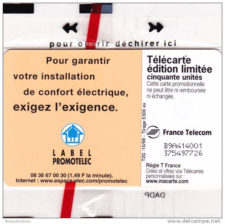 TELECARTE NSB 50 U - PROMOTELEC - Electricité - 5500 Ex @ 10/1999 - ROI LOUIS XIV - France