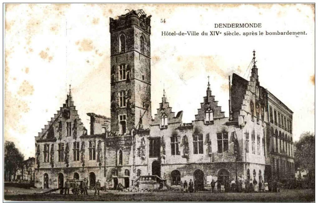 Dendermonde - Hotel De Ville Du XIV Siecle - Dendermonde