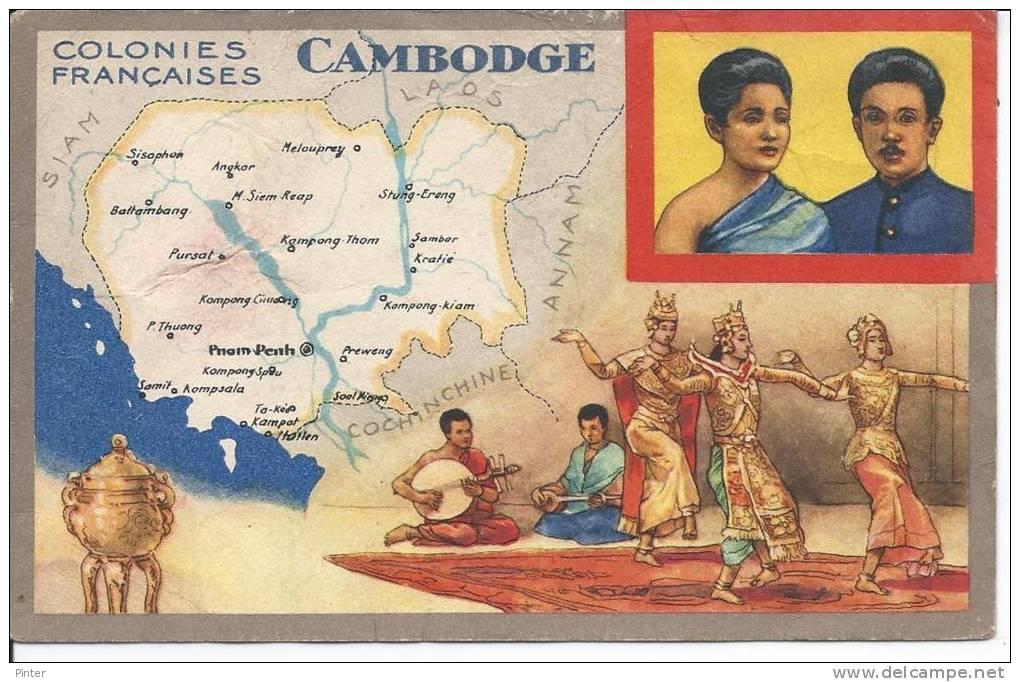 CAMBODGE - Colonies Françaises - Cambodia