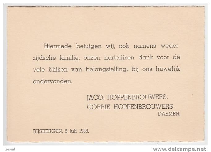 Rijsbergen 1938 - Roosendaal