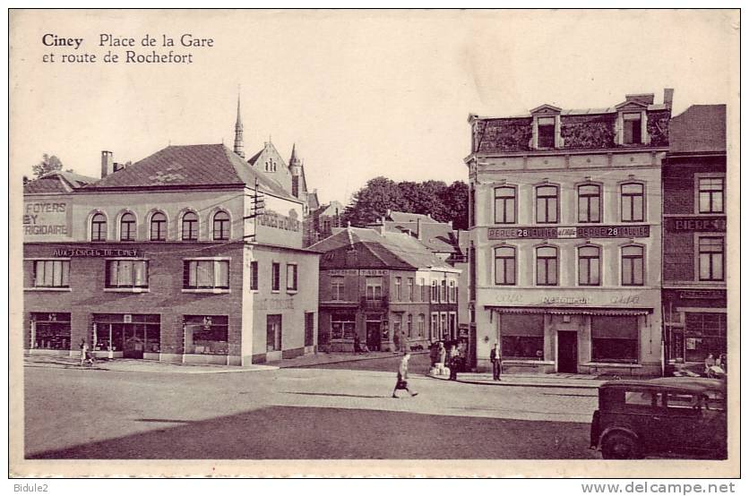 Ciney Place De La Gare - Belgien