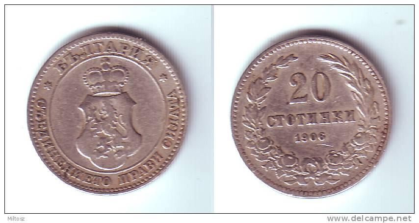 Bulgaria 20 Stotinki 1906 - Bulgaria