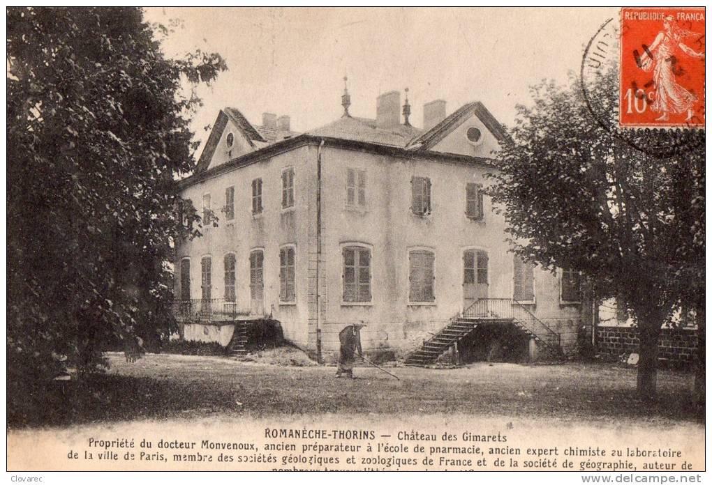 """ROMANECHE  THORINS """"Chateau Des Gimarets"""" - France"""