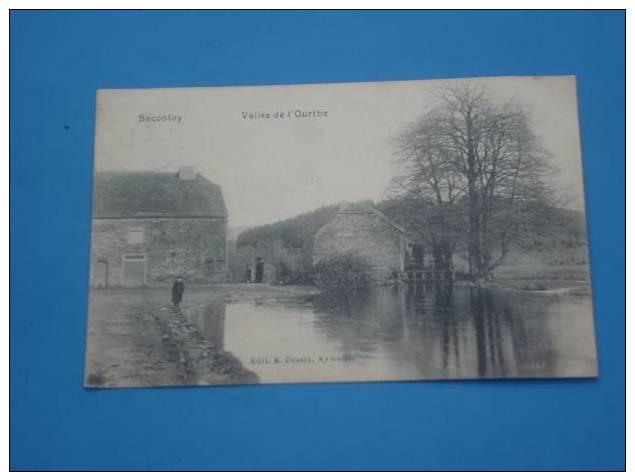 CPA BELGIQUE BACONFOY Vallee De L Ourthe RARE - Belgique