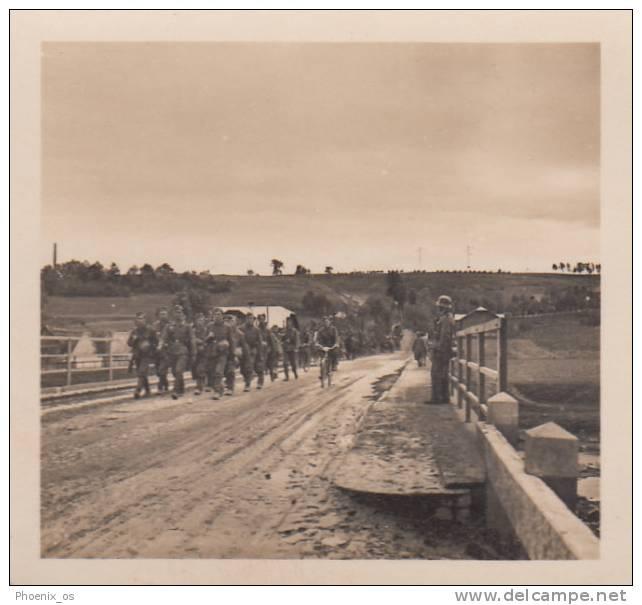 MILITARIA - WW II, Poland,  Die Deutsche Besetzung Der Polnischen 1939 - Deutsch Truppen Am San Fluss - Stereoscopes - Side-by-side Viewers