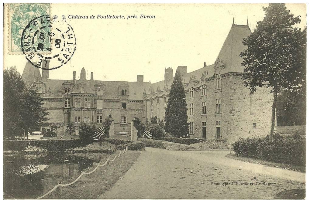 2i - 53 - Mayenne - Chateau De Foulletorte Près Evron - Castillos