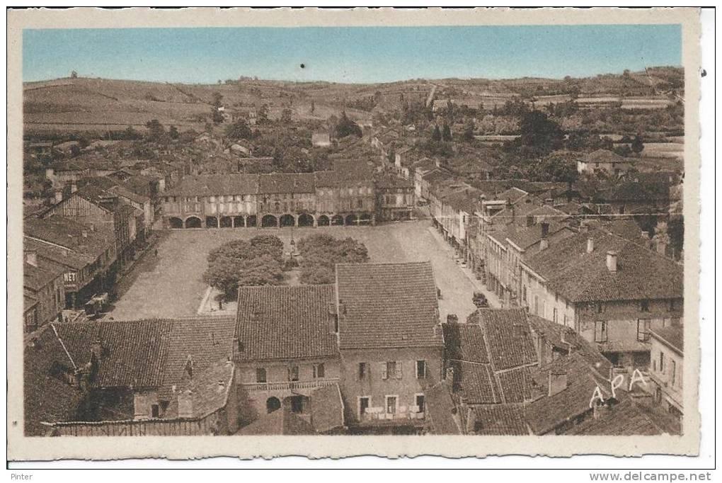 MARCIAC - Panorama Pris Du Clocher De L'Eglise - France