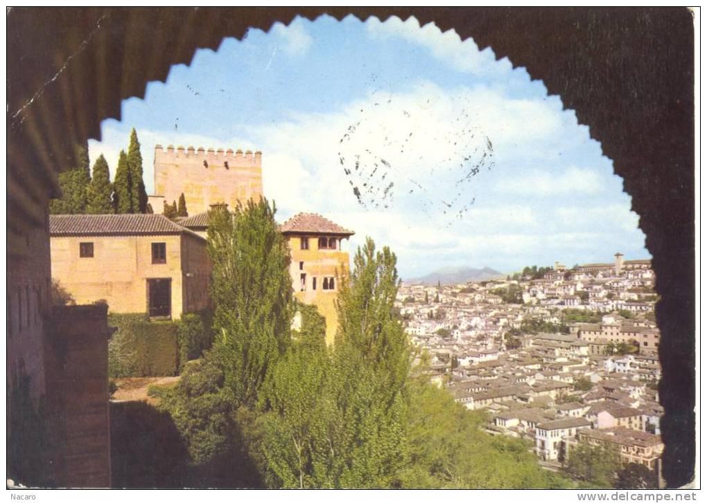 Espagne - España - Granada Vista Parcial Desde La Alhambra - Granada