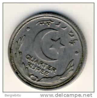 1951 Pakistan Quarter Rupee  Coin In Very Nice Condition - Pakistan