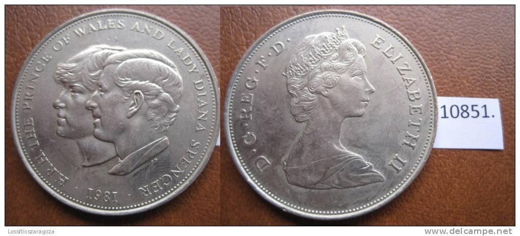 Inglaterra 1 Corona 1981 - Otros – Europa