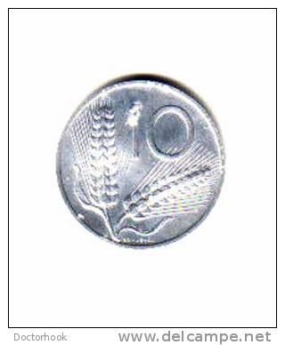 ITALY    10  LIRE   1955  (KM# 93) - 1946-… : Republic