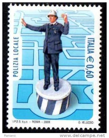 PIA - ITALIA - 2008 : Polizia Locale - (SAS  3063) - 6. 1946-.. Repubblica