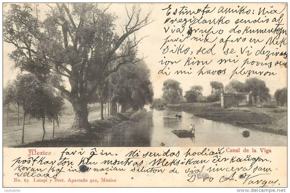 MEXIQUE MEXICO CANAL DE LA VIGA - Mexique
