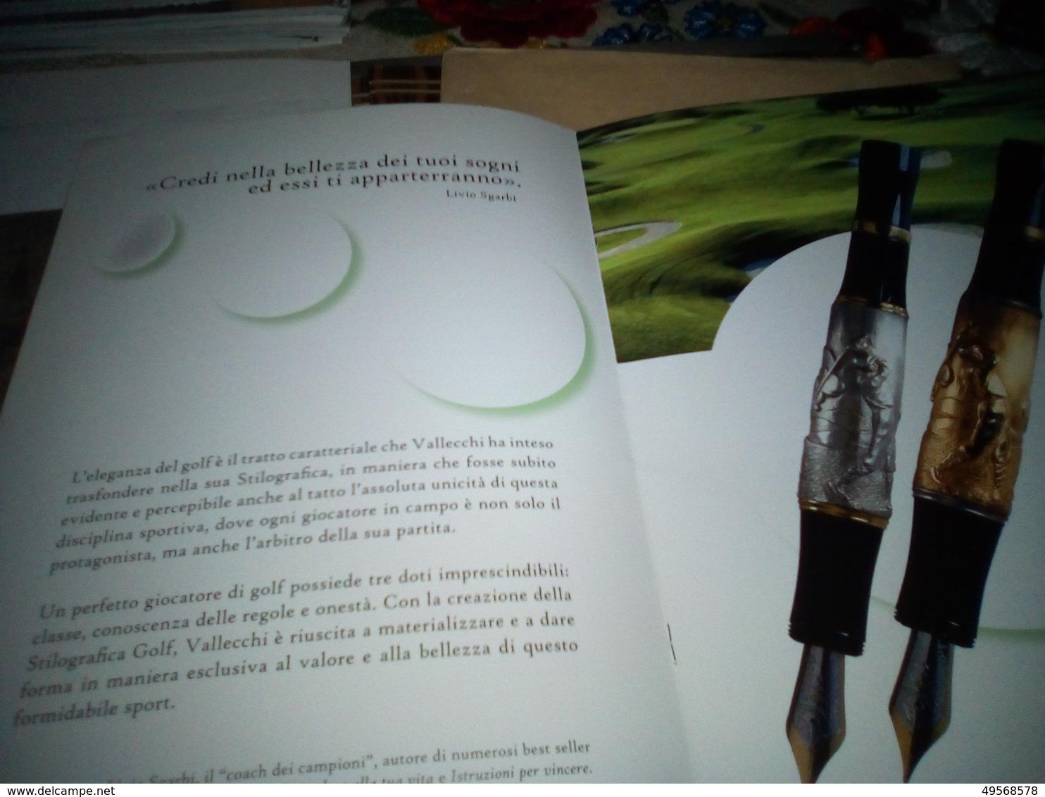 "PENNA STILOGRAFICA ""GOLF"" IN ARGENTO VALLECCHI - Penne"
