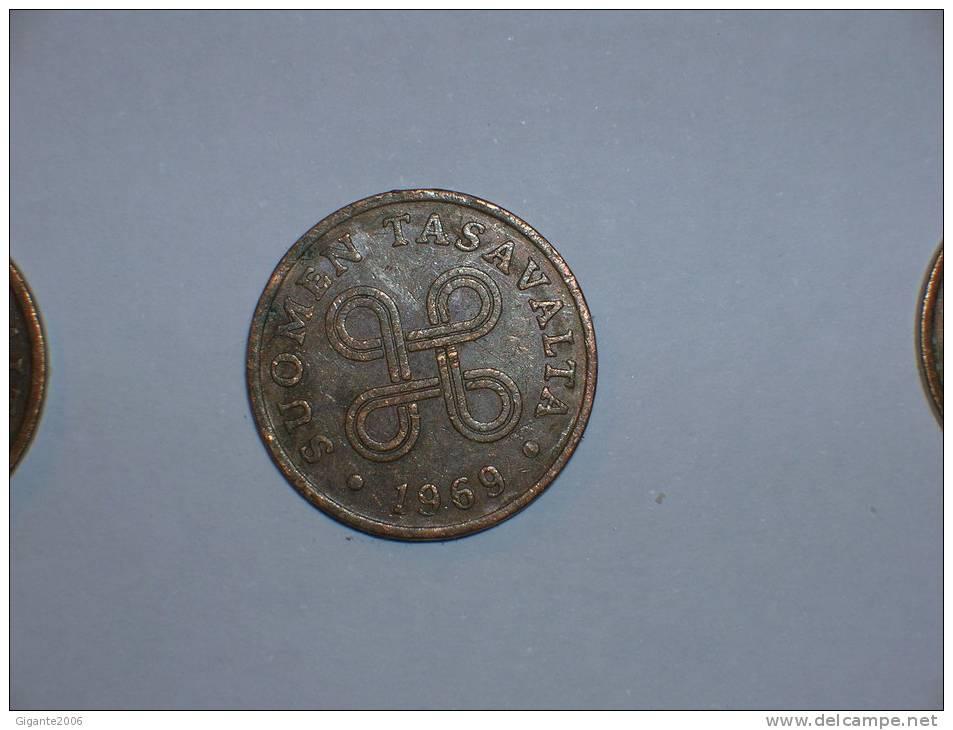 1 Pennia 1969  (4399) - Finlandia
