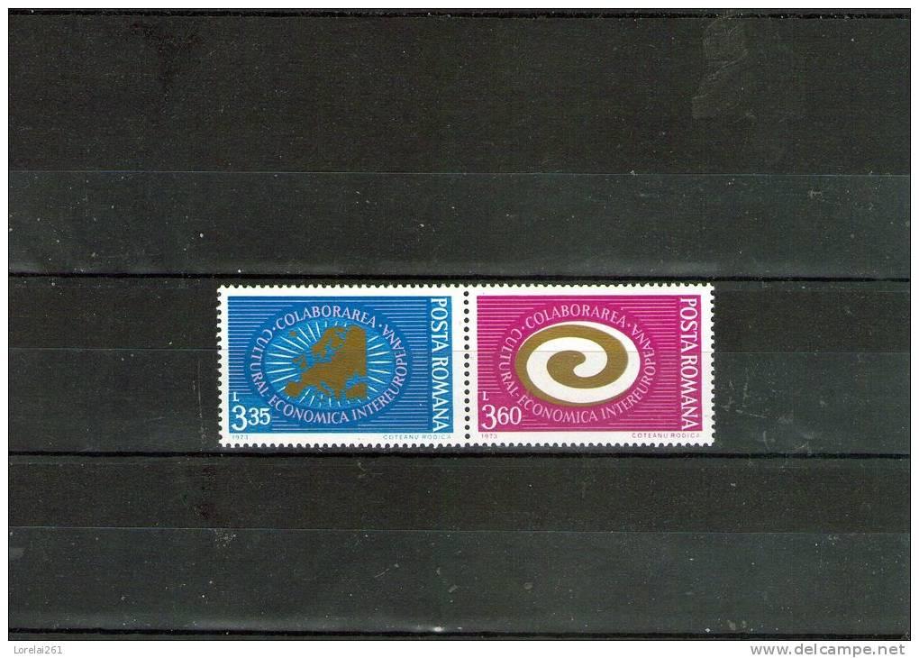 1973 - EUROPA  Yv No 2755/2756 Et Mi No 3120/3121 MNH - 1948-.... Republiken