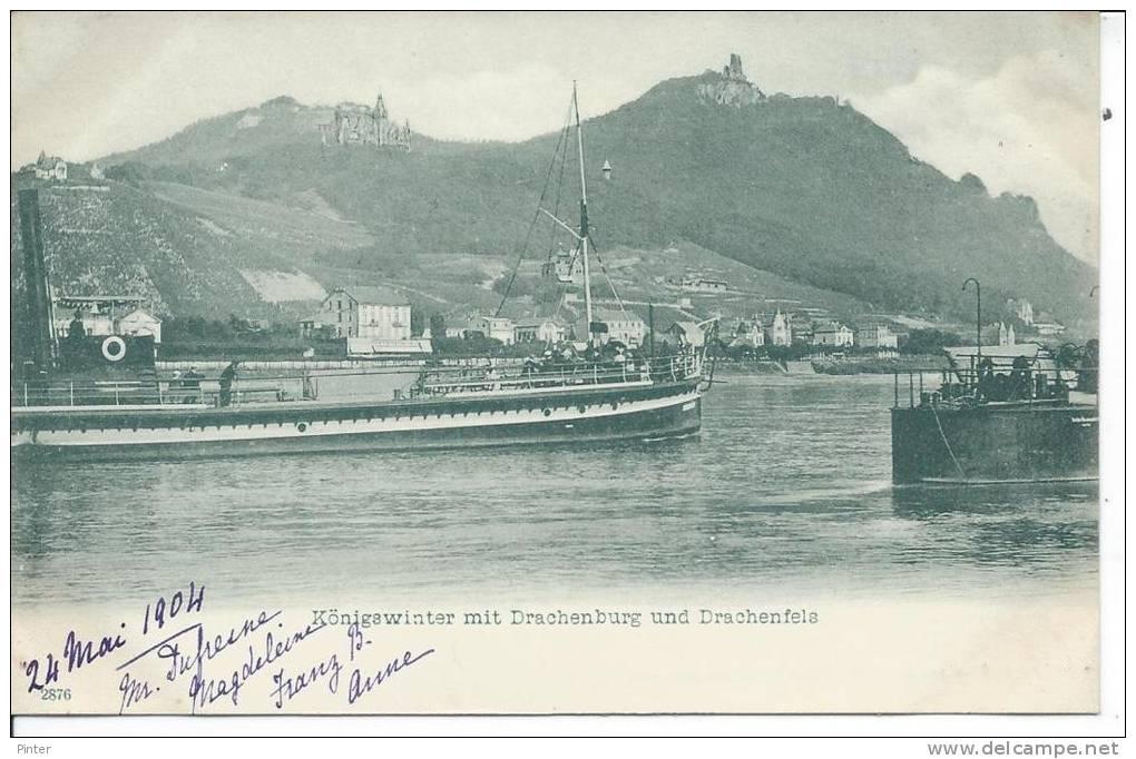 ALLEMAGNE - KONIGSWINTER Mit Drachenburg Und Drachenfels - Koenigswinter