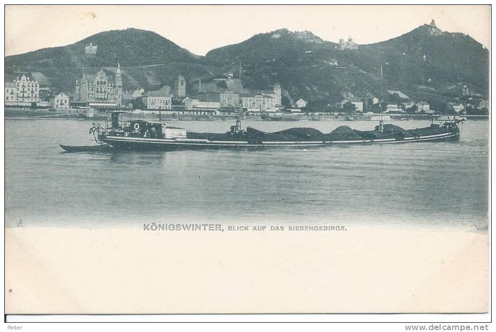 ALLEMAGNE - KONIGSWINTER Blick Auf Das Siebengebirge - Koenigswinter