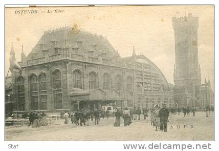 Oostende : La Gare - Oostende