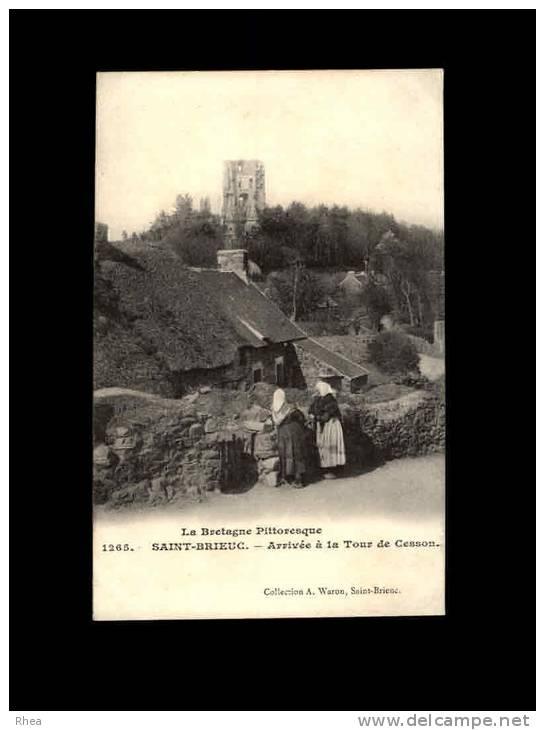 22 - SAINT-BRIEUC - CESSON - Arrivée à La Tour De Cesson - 1265 - Saint-Brieuc