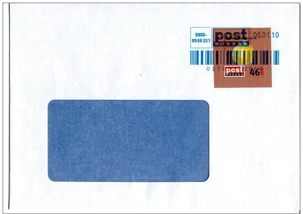 Post Modern Tür  1 Aus Dem Adventskalender 2008 Portogerecht Auf C6-Brief - [7] Federal Republic