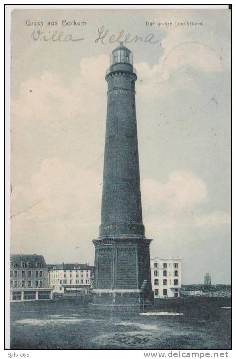 GRUSS AUS BORKUM-Der Grosse Leuchtturm - Borkum