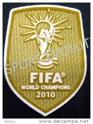 FIFA WORLD CHAMPION 2010 PATCH SPAIN FOOTBALL - Patches