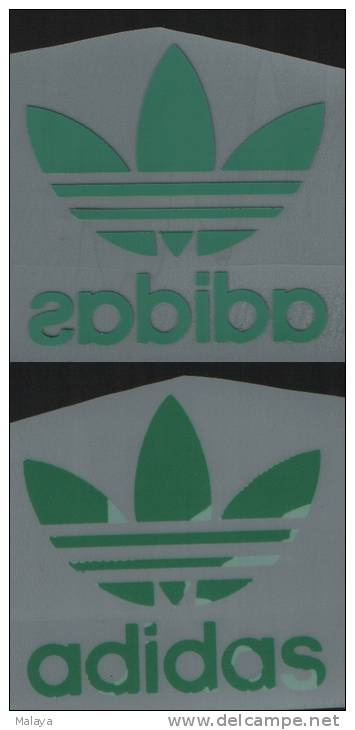ADIDAS TREFOIL GERMANY Green COLOR PATCH PATCHES - Patches
