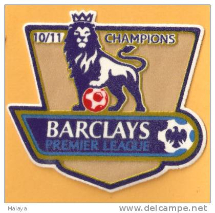 BPL MANCHESTER UNITED MU PATCH FOOTBALL UK GB ENGLAND 2010 2011 - Patches