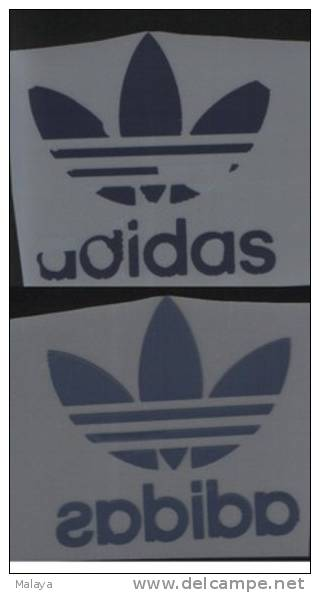 ADIDAS TREFOIL GERMANY INDIGO COLOR PATCH PATCHES - Patches