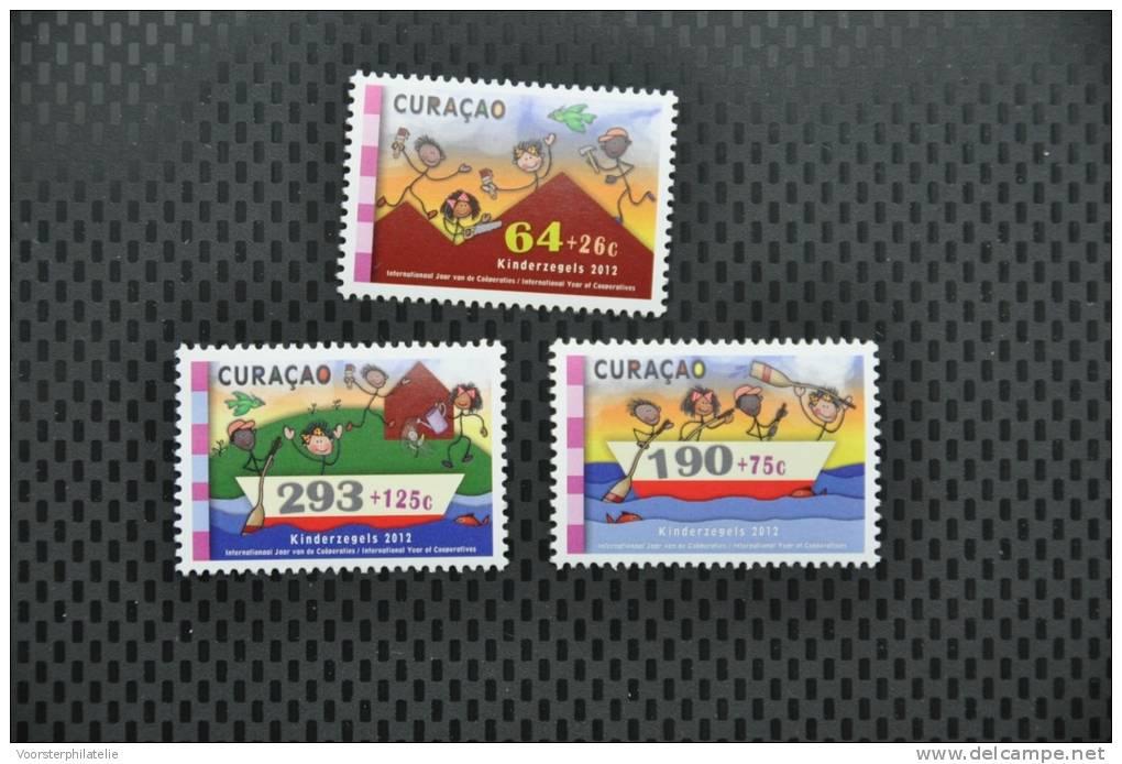 CURACAO 2012 ++  SERIE ++ KINDERZEGELS CHILDREN ENFANTS MNH POSTFRIS ** - Curacao, Netherlands Antilles, Aruba