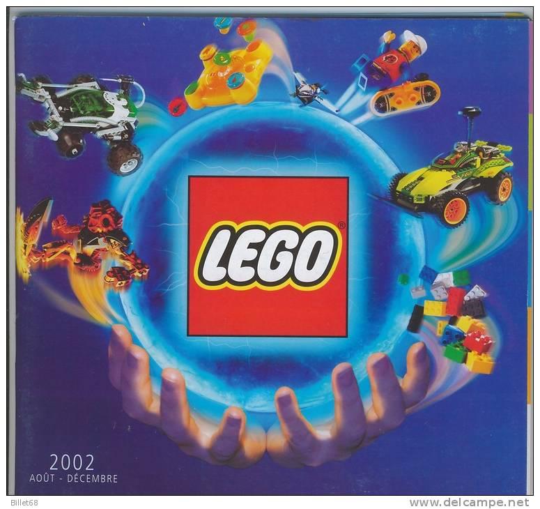 CATALOGUE LEGO 2008 Aout à Décembre