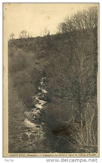 N° 25949 -cpa Saint Pois -cascades Du Glénan Dans Le Avalléee D'enfer- - Autres Communes