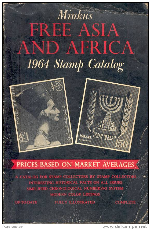 MINKUS FREE ASIA AND AFRICA 1964 STAMP CATALOG CUAC - Cataloghi