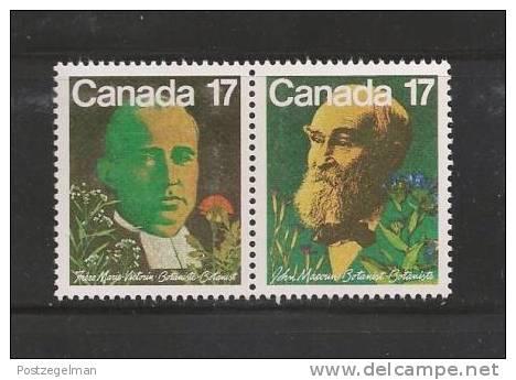 CANADA 1981  MNH Stamp(s) Botanists 806-807 - 1952-.... Reign Of Elizabeth II