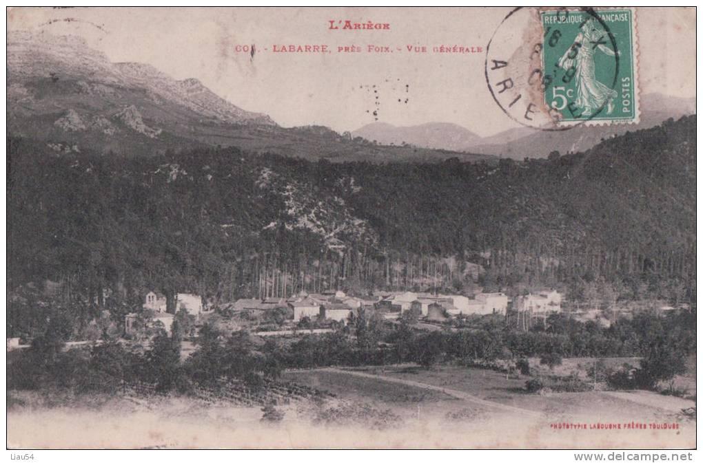 LABARRE Près Foix (1908) - France