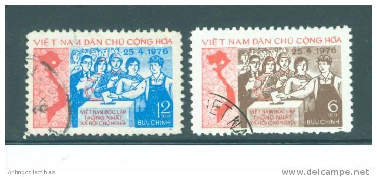 North Vietnam: Voting In 1976 - Used Fine - Berufe