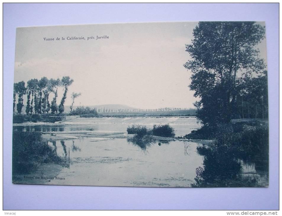 Ma Réf: 62-6-33.            JARVILLE   ( Environs )  Vanne De La Californie   ( Ton Vert-foncé ). - France