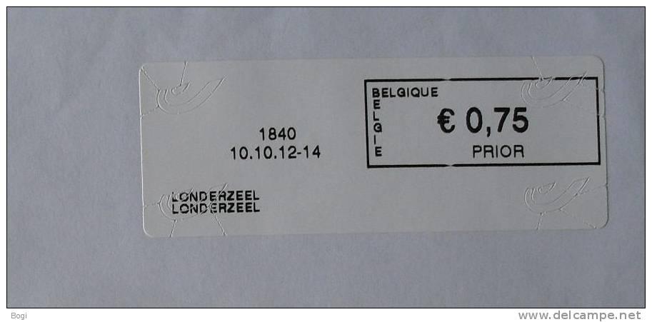 België 2012 Londerzeel 1840 - Nieuw Logo Bpost - Frankeervignetten