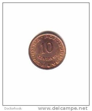 MOZAMBIQUE     10  CENTAVOS  1960  (KM# 83) - Mozambique