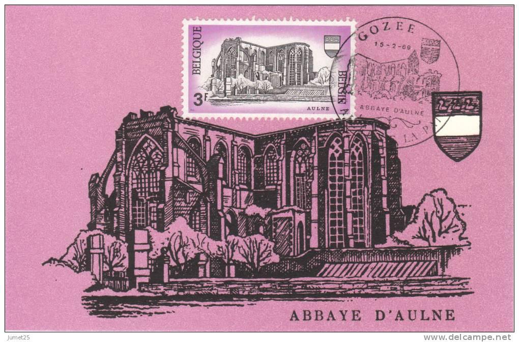 1483 Abbaye D' Aulne à Gozée - Maximumkarten (MC)
