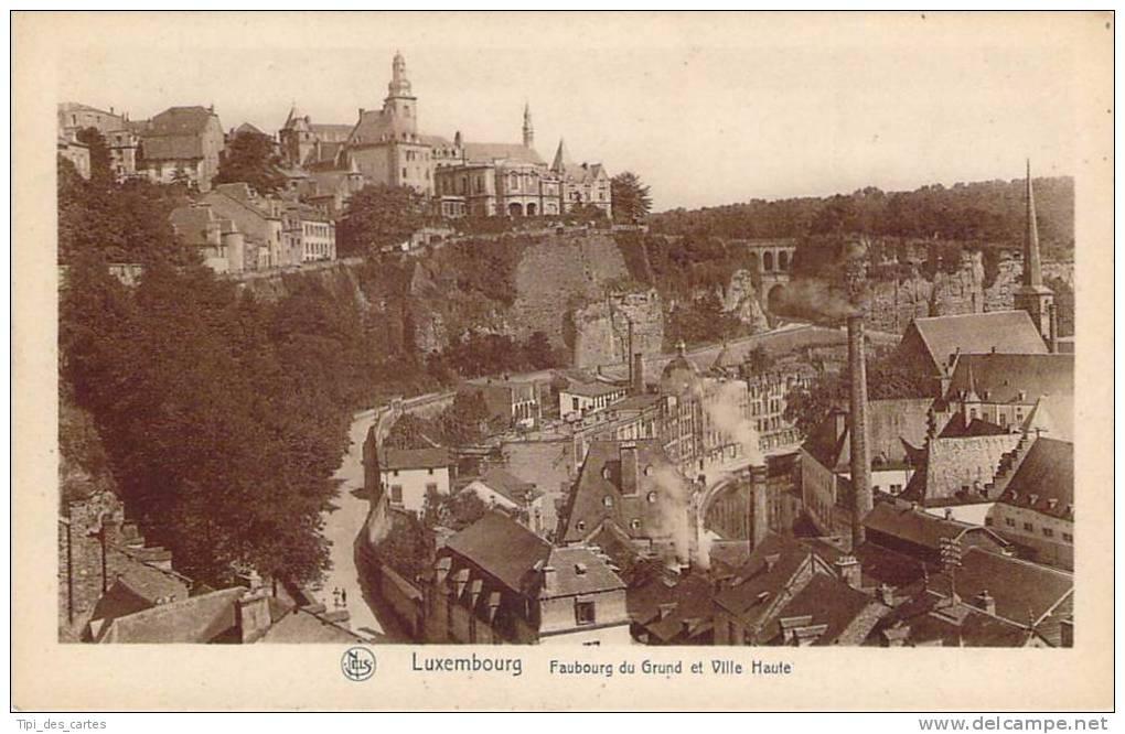 Luxembourg - Faubourg Du Grund Et Ville Haute - Luxembourg - Ville