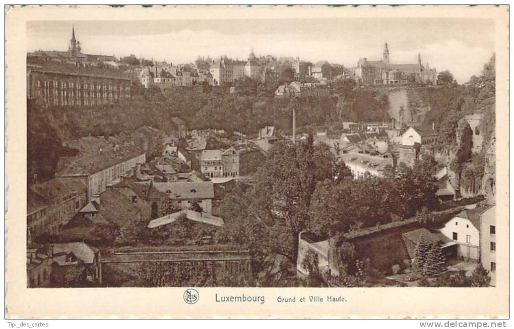 Luxembourg - Grund Et Ville Haute - Luxembourg - Ville