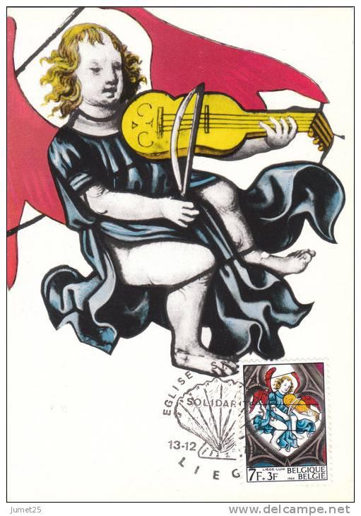 1521 Vitraux D´église - Eglise Saint-Jacques - Liège - Maximumkarten (MC)