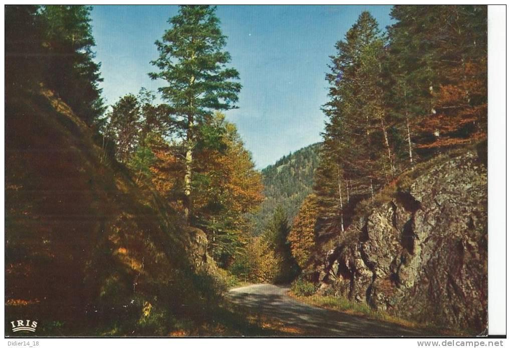 Route De RETOURNEMER à LONGEMER. - Xonrupt Longemer