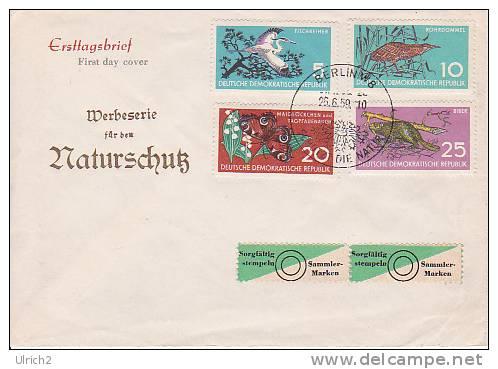 DDR FDC Mi.-Nr. 688-691 - DDR
