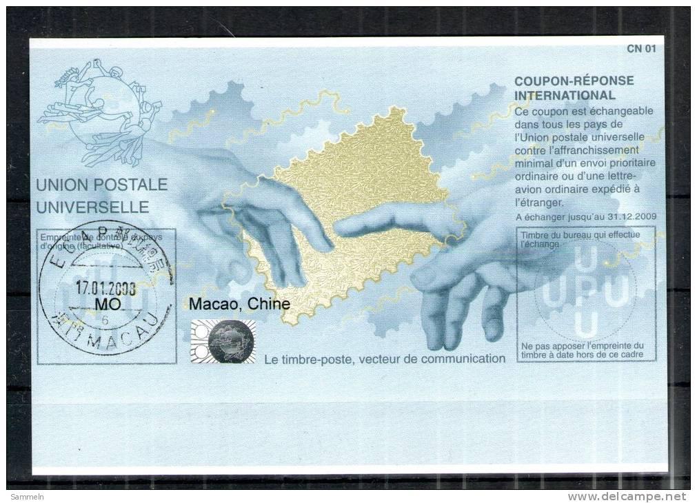 2318 IRC IAS CRI - International Reply Coupon - Antwortschein - T32 Gestempelt Macao Macau MO 20060630HA - 1999-... Sonderverwaltungszone Der China