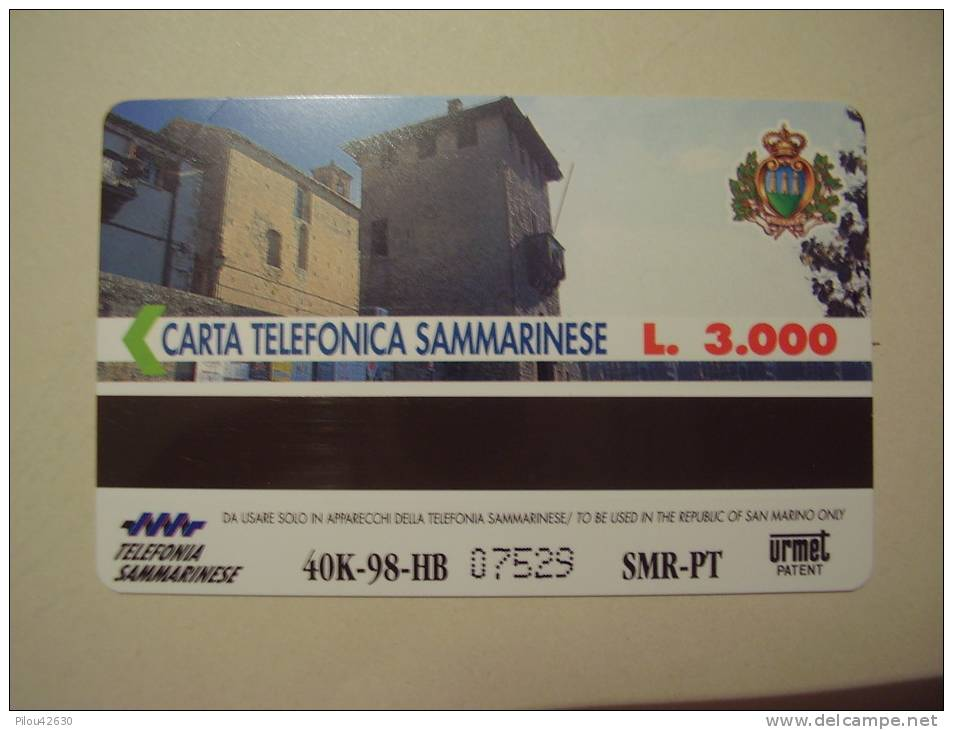 Télécarte Neuve De Saint Marin . San Marino . Signe Du Zodiaque : Le Lion . Leone  . - Saint-Marin