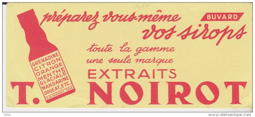 Buvard Extraits Végétaux T Noirot - Blotters