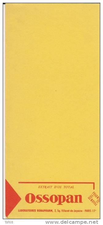Buvard Ossopan - Buvards, Protège-cahiers Illustrés